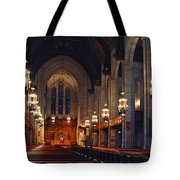 Inside The Cathedral Tote Bag
