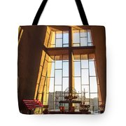 Inside The Chapel Of The Holy Cross Tote Bag