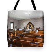 Inside The Church Tote Bag