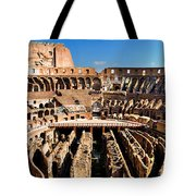 Inside The Colosseum Tote Bag
