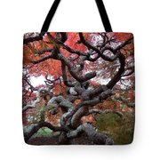 Inside The Japanese Maple Tote Bag
