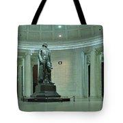 Inside The Jefferson Memorial Tote Bag