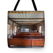 Inside The Little Church - World Mining Museum Tote Bag
