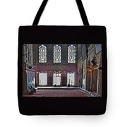 Inside The Mosque Tote Bag