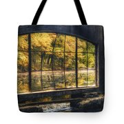Inside The Old Spring House Tote Bag by Scott Norris