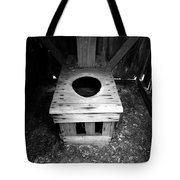 Inside The Outhouse Tote Bag