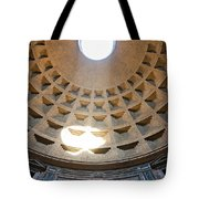 Inside The Pantheon - Rome - Italy Tote Bag