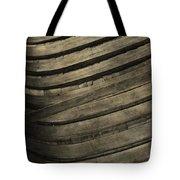 Inside The Wooden Canoe Tote Bag