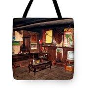 Inside Tibetan House Tote Bag