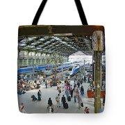 Inside Train Station, Nice, France Tote Bag