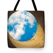 Inside View Of Cooling Tower Tote Bag