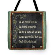 Inspirational Chalkboard-d2 Tote Bag