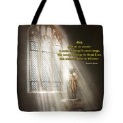 Inspirational - Heavenly Father - Senrenity Prayer  Tote Bag