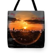 Inspirational--summer Day On A Winters Night Tote Bag