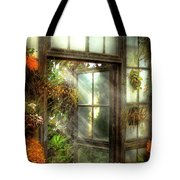 Inspirational - The Door To Paradise - Peter 1-11 Tote Bag by Mike Savad