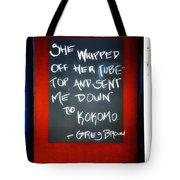 Inspired Prose Tote Bag