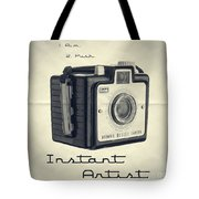 Instant Artist Tote Bag by Edward Fielding