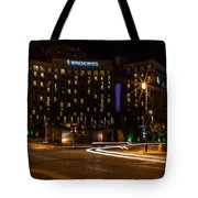 Intercontinental Hotel Tote Bag