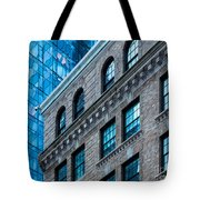 Intercontinental New And Old Tote Bag