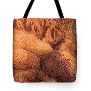 Interesting Desert Landscape Tote Bag