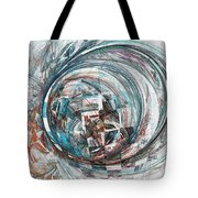 Interfering Structure Tote Bag