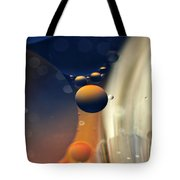 Intergalactic Space Tote Bag by Kaye Menner