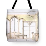 Interior Design For A Fashion Shop Tote Bag
