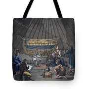 Interior Of A Kalmuk Yurt, 1812-13 Tote Bag