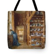 Interior Of A Panelled House Tote Bag