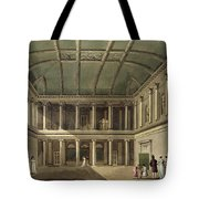 Interior Of Concert Room, From Bath Tote Bag