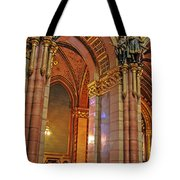 Interior Of Hungarian Parliament Tote Bag