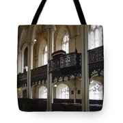Interior Of The Chapel Royal - Dublin Castle Tote Bag