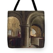 Interior Of The Church Of The Holy Tote Bag