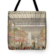 Interior Of The Crystal Palace, Pub Tote Bag