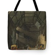 Interior Of The Kitchen, Trinity Tote Bag