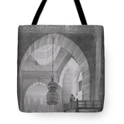 Interior Of The Mosque Of Kaid-bey Tote Bag