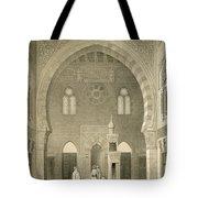 Interior Of The Mosque Of Qaitbay, Cairo Tote Bag