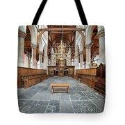 Interior Of The Oude Kerk In Amsterdam Tote Bag