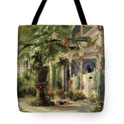 Interior Of The Palm House At Potsdam Tote Bag