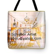 Interior Perspective Tote Bag