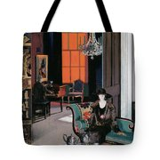 Interior - The Orange Blind, C.1928 Tote Bag