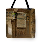 Interior View Of The West Temple Tote Bag