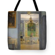 Interior With Afternoon Sun Tote Bag