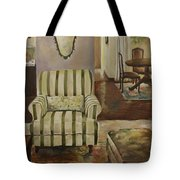 Interior With Chair Tote Bag