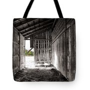 Interiors In Black And White Tote Bag