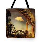 International Bridge To Canada Tote Bag