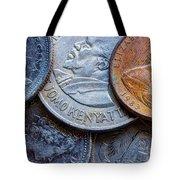 International Coins Tote Bag