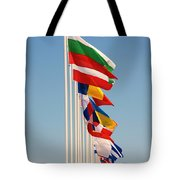 International Flags Nisyros Tote Bag