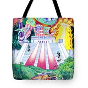 International Incident Mexico Tote Bag