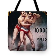 International Wrestling Championship Tote Bag